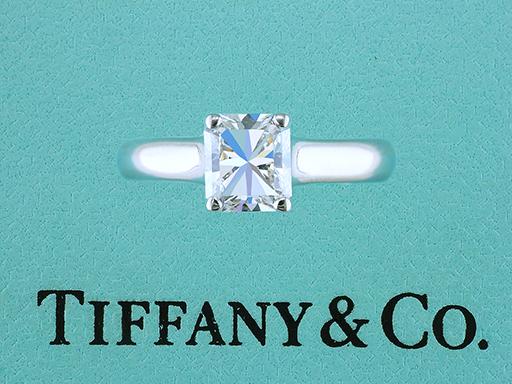 Tiffany & Co Lucida Platinum Engagement Ring Certified Diamond 1.16ct $6,950