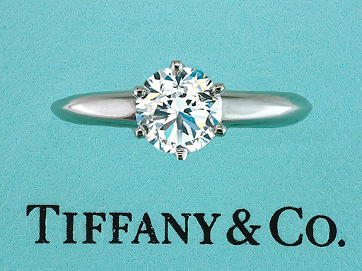 Tiffany & Co Engagement Ring Diamond Solitaire Certified XXX 1.16ct I-VVS2 Platinum $10,100