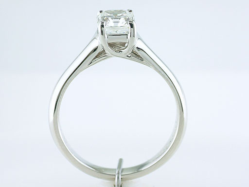 cb95810264979 Tiffany & Co Lucida Engagement Ring .84ct and Tiffany Embrace .27ct ...