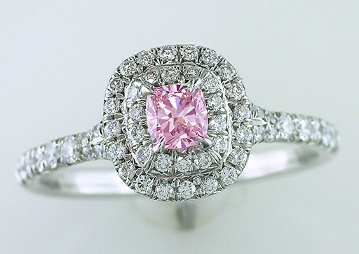 Pink Diamond Engagement Ring GIA Certified 3/4ct Natural Fancy Intense Pink Plat $19,500