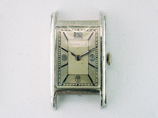 Vintage Touchon & Co Tiffany Wrist Watch Platinum Antique Art Deco $2,950