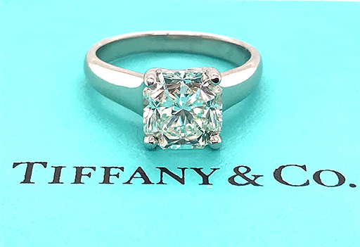 Tiffany & Co. Lucida Engagement Ring 3.00ct I-VS Diamond Solitaire $34,500